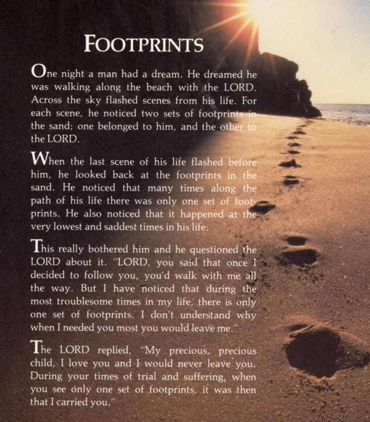 Image result for footsteps in the sand