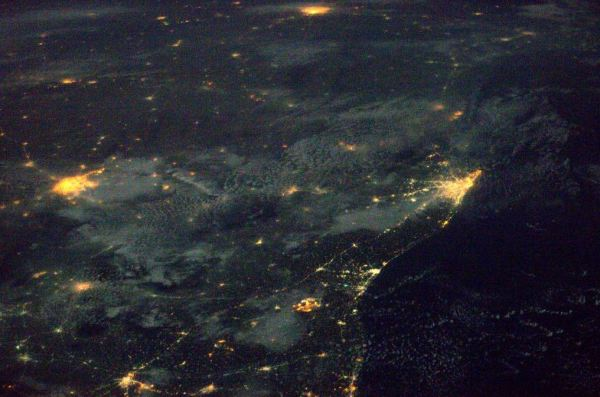 This is what India looks like from space