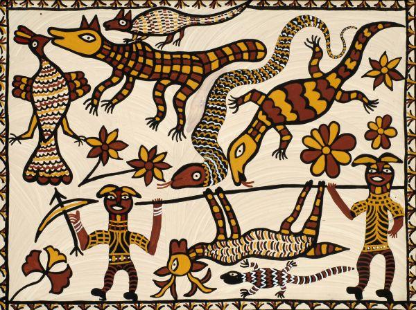 Earth songs Exploring tribal art