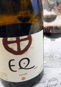 the Matetic 'EQ' Syrah, 2005 from Chile had a very pronounced nose