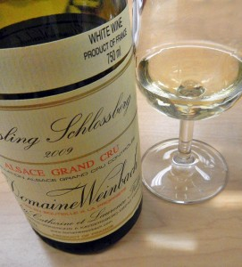 Grand Cru Reisling from the Alsace