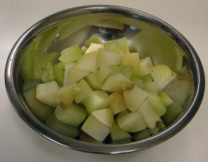Potatoes and Chayote Squash