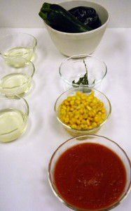 Ingredients for Sopa de Milpa