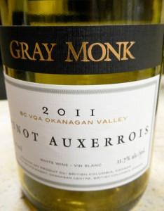 Gray Monk Pinot Auxerrois