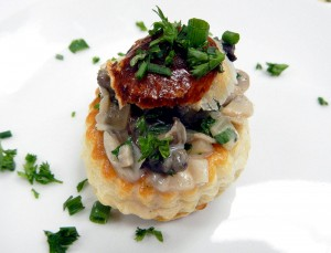 Escargot en Vol-au-Vents