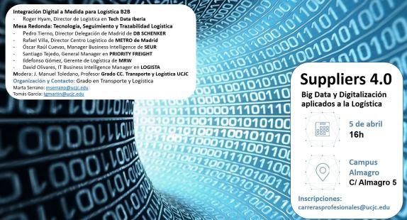 Suppliers 4.0 - Trazabilidad y Logística UCJC