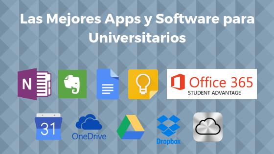 Las Mejores Apps y Software para Universitarios