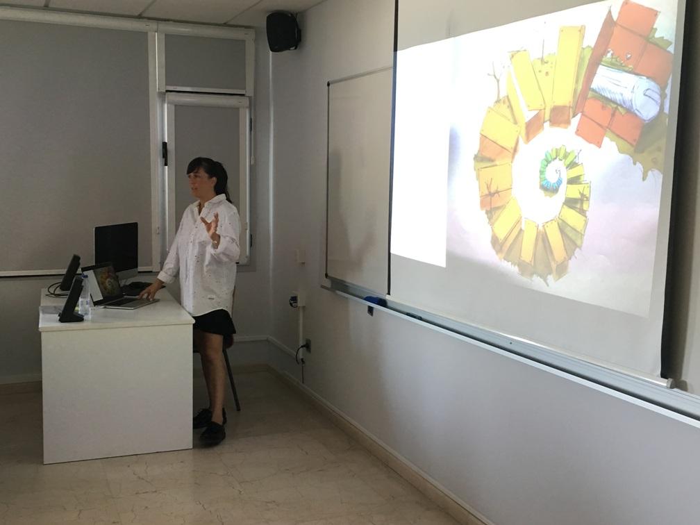 Noelia Meltzer, de TBWA, durante su conferencia