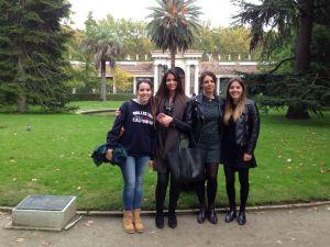 Las alumnas UCJC en el Jardín Botánico
