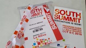 La Dtora. del Grado, Olalla Jiménez, acudió al South Summit