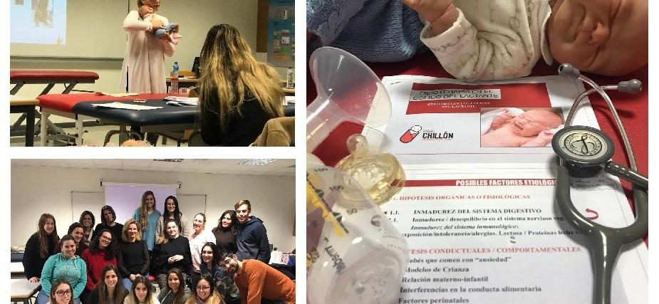 Raquel Chillón imparte el módulo de cólicos en el Experto de Fisioterapia Pediátrica Integral de la UCJC