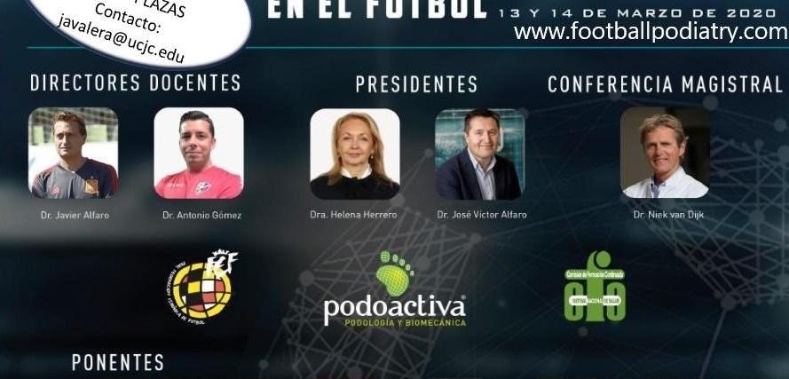 Juan Antonio Valera Calero, profesor en el Grado de Fisioterapia de la UCJC, asistirá como ponente al III Congreso Internacional de Podología y Biomecánica en el fútbol.