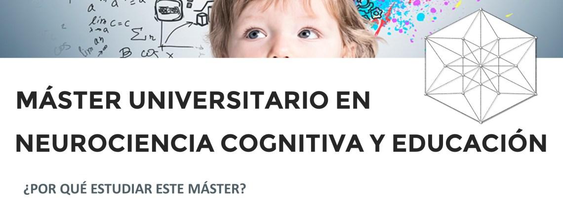 Master Neurociencia Cognitiva y Educación UCJC