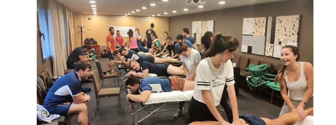 Prácticas Fisioterapia Selección Española de Rugby
