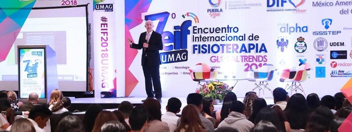 Sebastian Truyol, profesor de Fisioterapia UCJC, en el VII Encuentro Internacional de Fisioterapia 2018