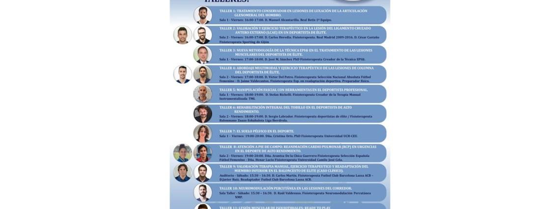 Taller Congreso Fisioterapia Deportiva