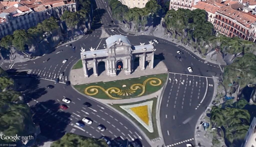Pantalla de Google Earth Pro imagen de alta resolución