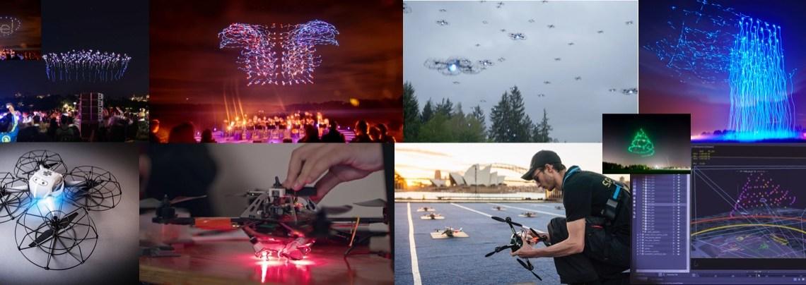 Los drones y sus espectáculos