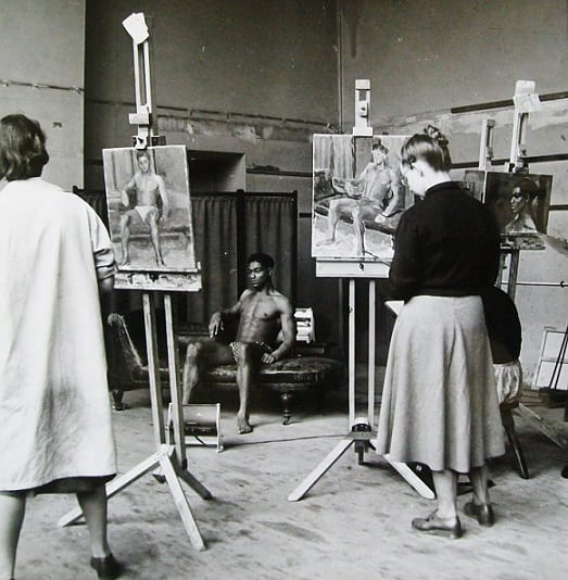 'Life Painting', Slade School of Fine Art.