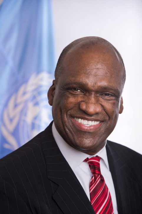 Ambassador John Ashe of Antigua and Barbuda is the incoming President of the 68th Session of the General Assembly.