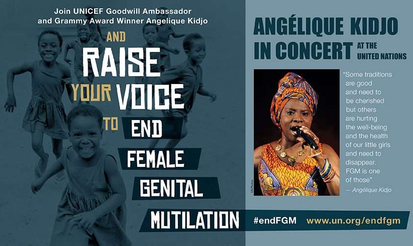 Guest post by Angélique Kidjo: Raise Your Voice Against Female Genital Mutilation