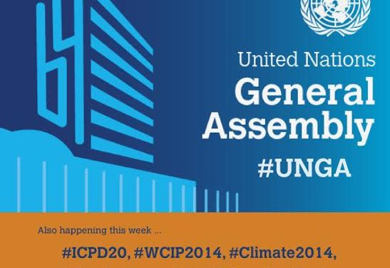 Seven ways to follow the #UNGA online