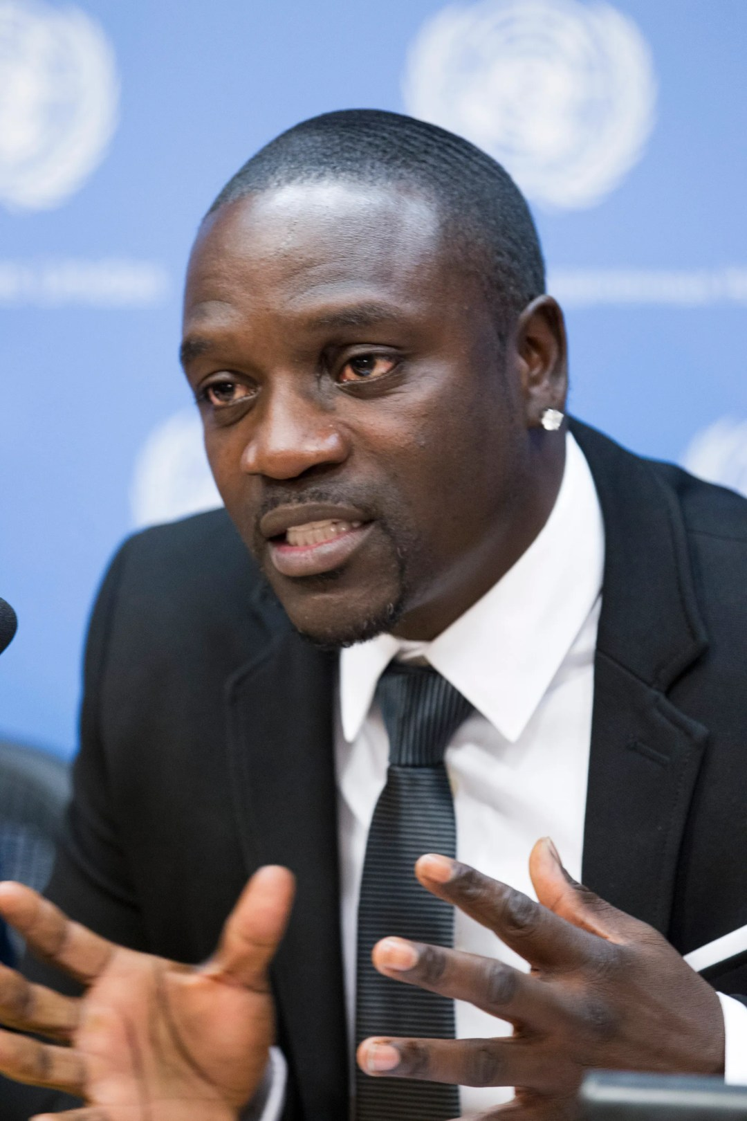 """Press Conference on """"Sustainable Energy for All: Actions and Commitments""""   Speakers: - Akon, R&B artist and co-founder, Akon Lighting Africa initiative; - Neven Mimica, European Commissioner for International Cooperation and Development; - Adnan Amin, Director-General, International Renewable Energy Agency; and - Sheila Oparaocha, Executive Secretary, Energia"""