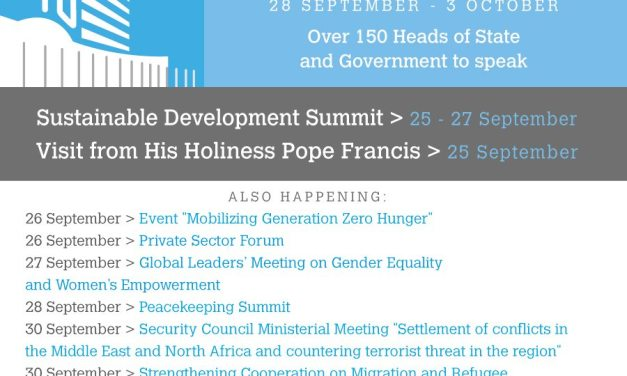 Coming up at the UN General Assembly on Monday