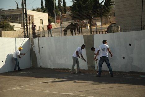 A young man and a fearful mother on the West Bank