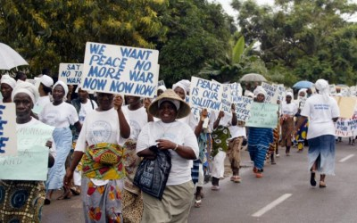 We must involve women in the peace process