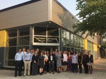 Photo: Sustainable Imersion Workshop participants outside 942 Olive Street