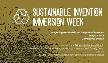 Poster: Sustainable Invention Immersion Week