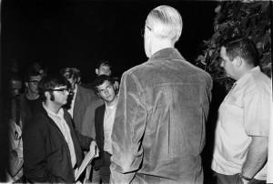 1969_ROTC_protest_President_Clark