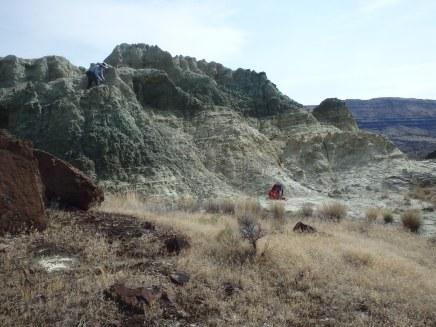 Dr. Hopkins at Bull Canyon