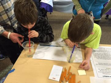 STEM outreach in Bend, Oregon, 2015