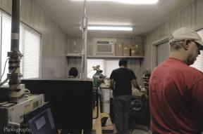 Praphulla Chandra Boggarapu and Dan Jaffe setting up equipment, Boise, ID, Aug 2019
