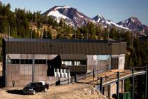 The ski lift to Mt. Bachelor Observatory, July 2019