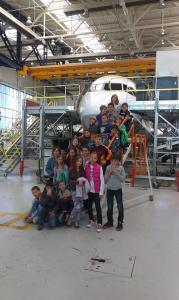На гости на Lufthansa Technik – Кой и как се грижи за самолетите?