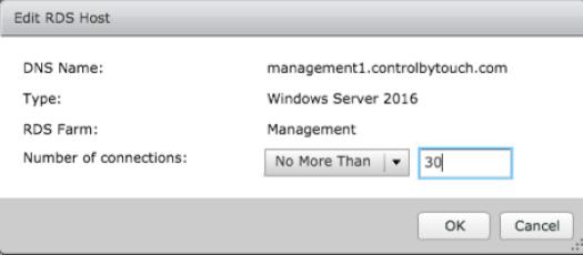 Configure prelaunch