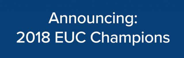 EUC 2018 Champions