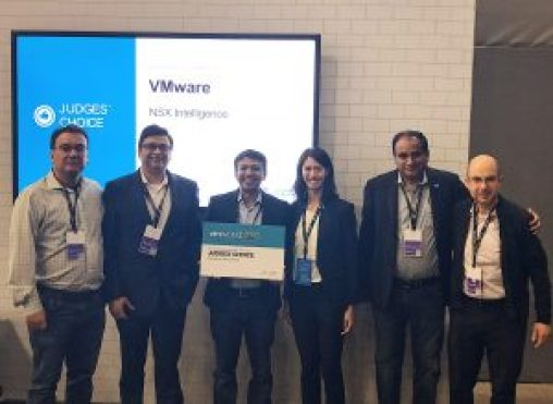 VMware NSX Intelligence won TechTarget's Best of Show award – Judge's Choice for Disruptive Technology.