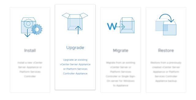 vSphere 6.7 Upgrade