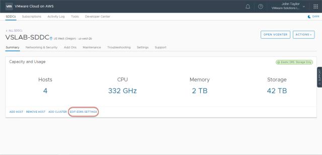VMware Cloud on AWS Policies 1