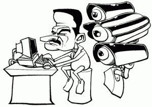 AssadSpying 300x212 Syria: Mining the Web to Target Activists