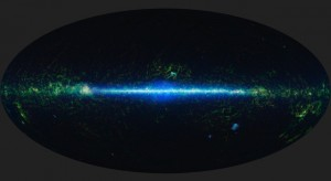 This is a mosaic of the images covering the entire sky as observed by the Wide-field Infrared Survey Explorer (WISE). Sky surveys such as this will be used to create simulations of the universe. (Imaget: NASA/JPL-Caltech/UCLA)