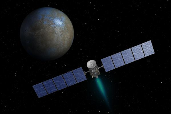 NASA's Dawn Spacecraft Begins Approach to Dwarf Planet ...