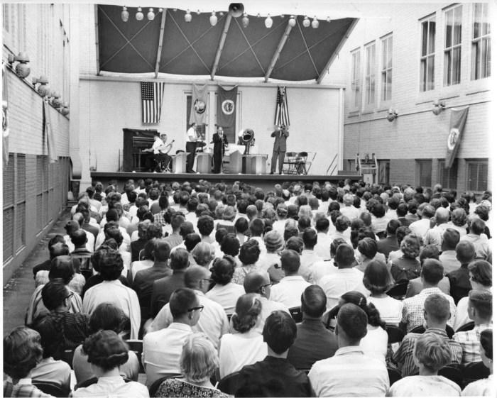 Doc Evans Jazz Band, Court Yard Concerts, 1958