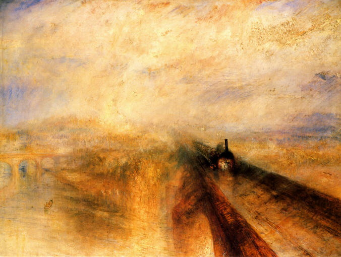 "Turner, ""Rain, Steam, Speed"""