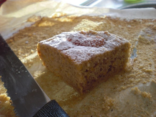 butternut squash and apricot cake