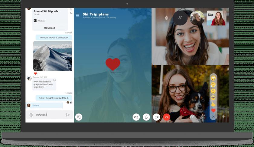 A atualização do Skype para Windows 10 traz todos os recursos mais recentes e melhores do Skype para usuários do Windows 10.
